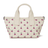 Marc by Marc Jacobs Women's Embroidered Fruit Canvas Small Tote Bag - Off White Cherry: Image 5