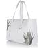 meli melo Womens Kiki Aloe Print Tote Bag - White: Image 2