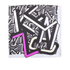 KENZO Women's Logo Barre Scarf - Anthracite: Image 2