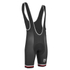 PBK Santini Replica Team Winter Bib Shorts - Red/White/Black: Image 1