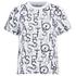 adidas Women's Stella Sport Gym Print Logo T-Shirt - White: Image 1