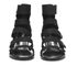 Opening Ceremony Women's Pebbled Nubuck Olivia Wedged Sandals - Black: Image 4