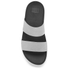 FitFlop Women's Loosh Slide Sandals - Silver: Image 3