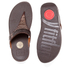 FitFlop Women's Aztek Chada Suede Toe Post Sandals - Chocolate: Image 5