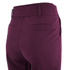Lavish Alice Women's D-Ring Belt and Cuff Tapered Leg Trousers - Aubergine: Image 4