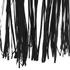 Lavish Alice Women's Faux Suede Fringe Hem Cape - Black: Image 6