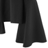 Lavish Alice Women's Lace Up Deep Plunge Bell Long Sleeve Top - Black: Image 5