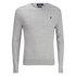 Polo Ralph Lauren Men's Crew Neck Pima Cotton Knitted Jumper - Dove Grey: Image 1