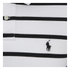 Polo Ralph Lauren Men's Short Sleeve Slim Fit Striped Polo Shirt - White/Black: Image 3
