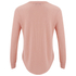 Wildfox Women's Girlfriends T Kiss And Tell Long Sleeve Top - Cotton Candy: Image 3