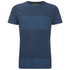 Universal Works Men's Stripe Pocket T-Shirt - Blue: Image 1