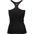 Better Bodies Women's N.Y Rib T-Back Tank Top - Black: Image 2