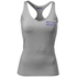 Better Bodies Women's N.Y Rib T-Back Tank Top - Grey Melange: Image 1