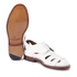 Grenson Women's Wilma Grain Leather Flats - White: Image 6
