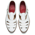 Grenson Women's Briony Grain Leather Cut-Out Buckle Flats - White: Image 2