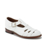 Grenson Women's Briony Grain Leather Cut-Out Buckle Flats - White: Image 5