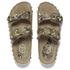 Ash Women's Utopia Studded Snake Print Double Strap Sandals - Desert/Wilde: Image 2