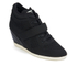 Ash Women's Bebop Knit Wedged Trainers - Black/Black: Image 2