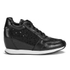 Ash Women's Dream Lace Wedged Trainers - Black: Image 1