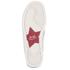 Ash Women's Jungle Leather Flatform Slip-on Trainers - Platine: Image 3