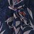Diane von Furstenberg Women's Camila Top - Snake Leaves New Indigo: Image 3