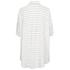 VILA Women's Very Short Sleeve Stripe Shirt - Snow White: Image 2