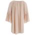 VILA Women's Alantata Long Sleeve Tunic Dress - Pink Sand: Image 2