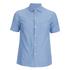 Arpenteur Men's Pyjama Short Sleeve Shirt - Blue Pique: Image 1