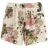 VILA Women's Flourish Spring Shorts - Pristine: Image 1