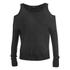 VILA Women's Count Cold Shoulder Jumper - Black: Image 1