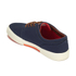 Polo Ralph Lauren Men's Faxon Low-Ne Canvas Trainers - Navy: Image 5