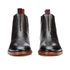 H Shoes by Hudson Men's Tamper Leather Chelsea Boots - Black: Image 4