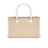 Paul Smith Accessories Women's Small Double Zip Leather Tote Bag - Cream: Image 5