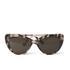 Prism Women's Capri Sunglasses - Black Tortoiseshell: Image 1