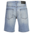 Cheap Monday Men's Line Denim Shorts - Atom Blue: Image 2