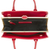 Lulu Guinness Women's Mini Daphne Polished Leather Crossbody Bag - Red: Image 5