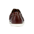 G.H Bass & Co. Men's Camp Moc Jackman Pull Up Leather Boat Shoes - Dark Brown: Image 3