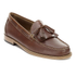 Bass Weejuns Men's Layton Pull Up Kiltie Leather Loafers - Mid Brown: Image 5