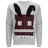 McQ Alexander McQueen Men's Geometric Bunny Sweatshirt - Steel Grey: Image 1