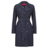 HUGO Women's Mintu Trench Coat - Blue: Image 1