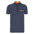 HUGO Men's Dexas Contrast Polo Shirt - Navy: Image 1