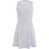 BOSS Orange Women's Dicoco Stripe Dress - White: Image 1