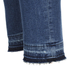 BOSS Orange Women's J10 Florida Frayed Cuff Jeans - Blue: Image 6