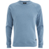 OBEY Clothing Men's Lofty Creature Comforts Crew Sweatshirt - Heather Faded Indigo: Image 1
