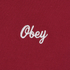 OBEY Clothing Men's Era Long Sleeve T-Shirt - Red: Image 3