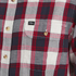 OBEY Clothing Men's Ridley Woven Long Sleeve Shirt - Red Check: Image 3