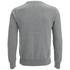 GANT Men's Light Weight Cotton Crew Neck Jumper - Grey Melange: Image 2