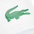 Lacoste Men's Frasier Slide Sandals - White/Green: Image 4