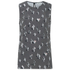 KENZO Women's Cartoon Cactus Sleeveless Top - Anthracite: Image 1