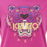 KENZO Women's The Classic Tiger T-Shirt In Light Cotton Jersey - Fuchsia: Image 3